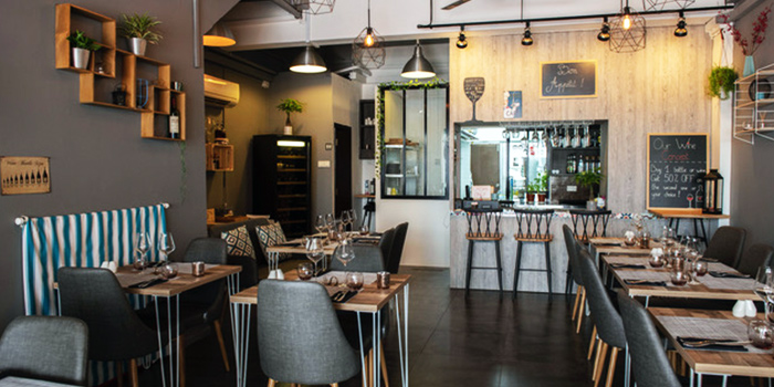 Interior from La Bonne Table in East Coast, Singapore