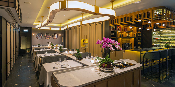 Interior from Chinoiserie in Marina Bay, Singapore