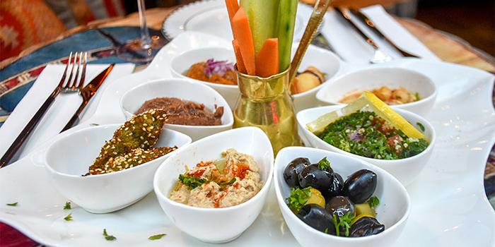 Mezze Platter, Zooba Bar & Grill, Tsim Sha Tsui, Hong Kong