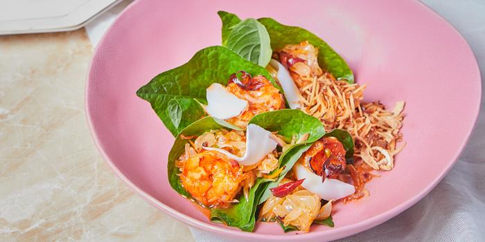 Mieng Goong from The Kitchen Table at W Bangkok on North Sathorn Road