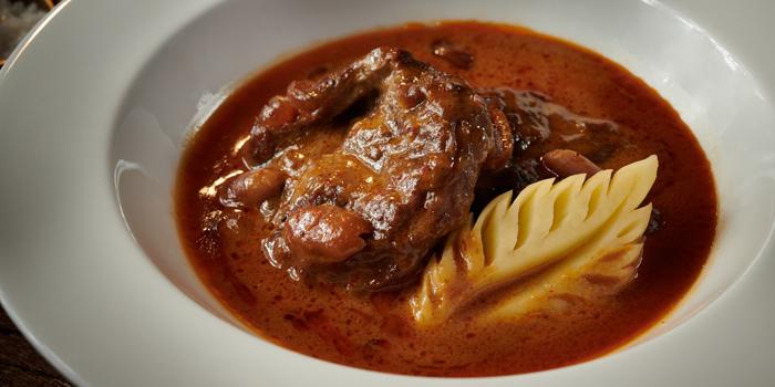 Mussaman curry with Kamphaeng Saen Beef from Saneh Jaan at G/F, Sindhorn Tower 130-132 Wireless Road Pathumwan Bangkok