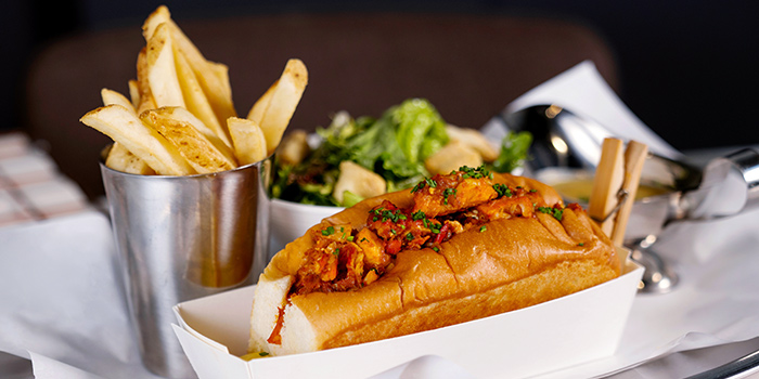 Nonya Chilli Lobster Roll from Pince & Pints Restaurant and Bar in Duxton, Singapore