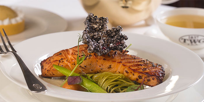 Norwegian Salmon at TWG Tea Salon & Boutique (Pacific Place)