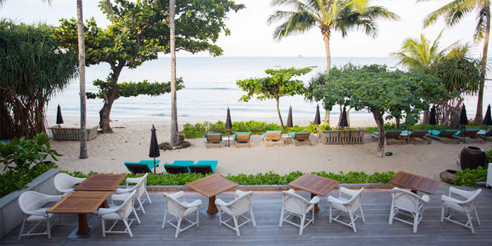 Restaurant-Outdoor of Sea Food at Trisara in Cherngtalay, Phuket, Thailand