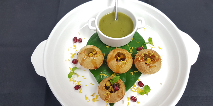 Pani Puri from Maya Restaurant & Bar at Holiday Inn Sukhumvit, Bangkok