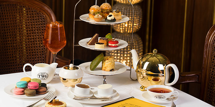 Parisian Moodshoot at TWG Tea Salon & Boutique (Pacific Place)