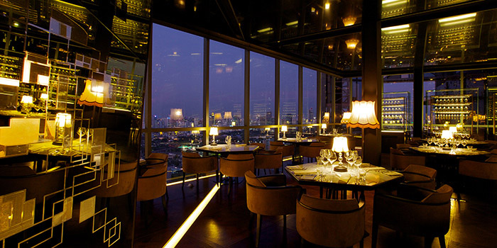 Ambience of Park Society at 29/F, Sofitel So Bangkok 2 North Sathorn Road Bangrak Bangkok