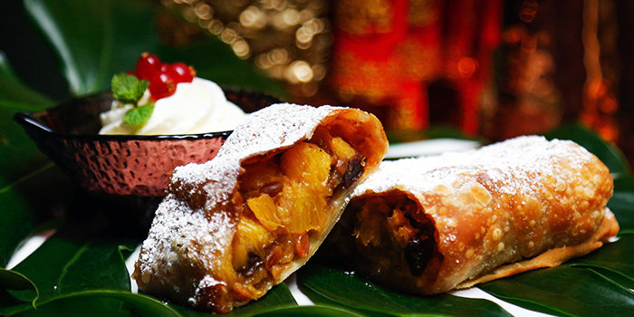 Pineapple Strudel with Orange (10 Jan to 19 Feb) from Amo in Clarke Quay, Singapore