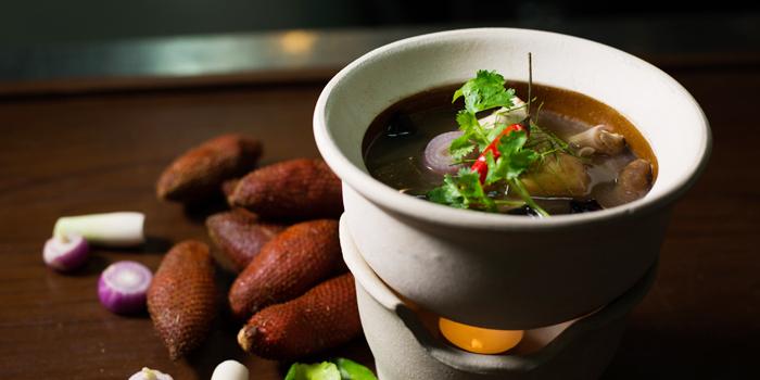 Tom-Som-Ragum-Pla from Sea Food at Trisara in Cherngtalay, Phuket, Thailand