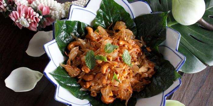 Pomelo Salad from Supatra River House at 266 Soi Wat Rakhang Arunamarin Road Siriraj, Bangkok Noi Bangkok