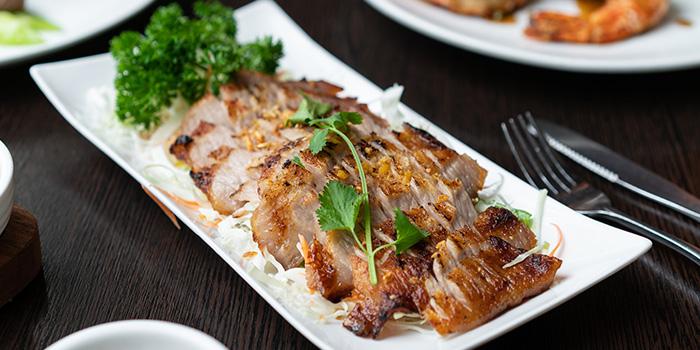 Roasted Pork Neck, Tom Bar & Grill, Shatin, Hong Kong