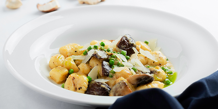 Potato Gnocchi with Mushroom from Tablescape Restaurant & Bar at Grand Park City Hall in City Hall, Singapore
