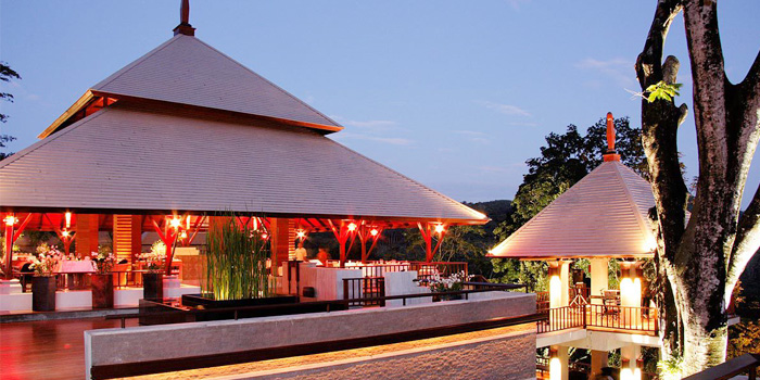 Ambiance from Bambu Restaurant in Chalong, Phuket, Thailand