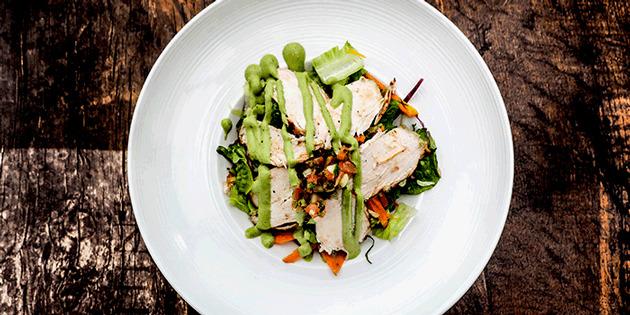 Ranch Avocado Chicken Salad from Cuba Libre Cafe & Bar (Clarke Quay) in Clarke Quay, Singapore