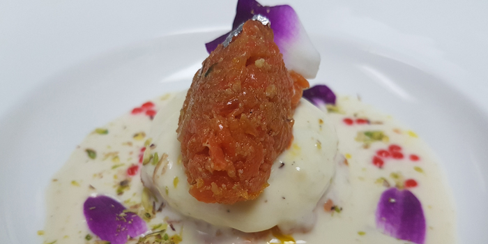 Rasmalai and Carrot Halwa Terrine from Maya Restaurant & Bar at Holiday Inn Sukhumvit, Bangkok