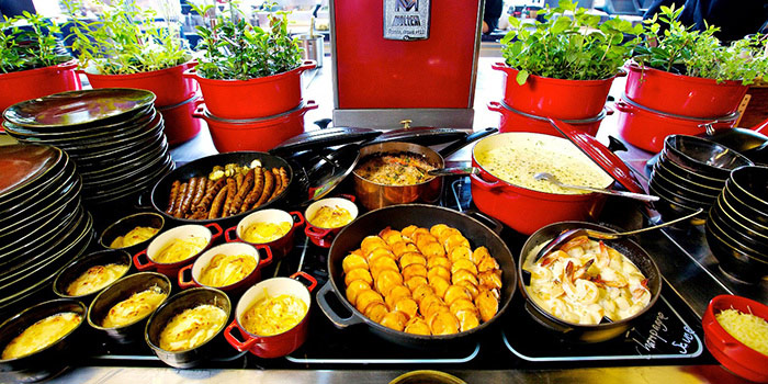 Red Oven Buffet Spread from Red Oven at 7/F, Sofitel So Bangkok 2 North Sathorn Road, Bangrak Bangkok