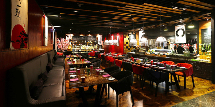 Red Oven Japanese Buffet from Red Oven at 7/F, Sofitel So Bangkok 2 North Sathorn Road, Bangrak Bangkok