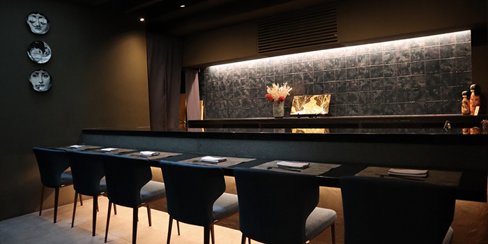 Counter Seats at RIZU Modern Japanese Cuisine in Duxton, Singapore