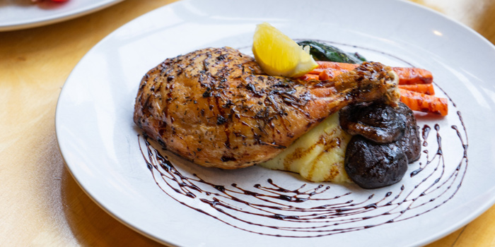 Roast Chicken from Chu Chocolate Bar and Cafe (Asoke) at 388 Exchange Tower Sukhumvit Rd, Khlong Toei Bangkok