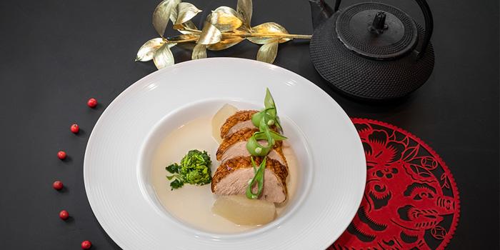 Roasted Duck Soup, CÉ LA VI Restaurant Hong Kong, Lan Kwai Fong, Hong Kong