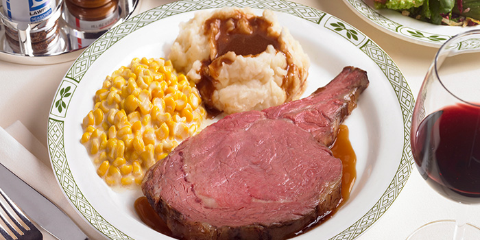 Roasted USDA Prime Rib of Beef from Lawry