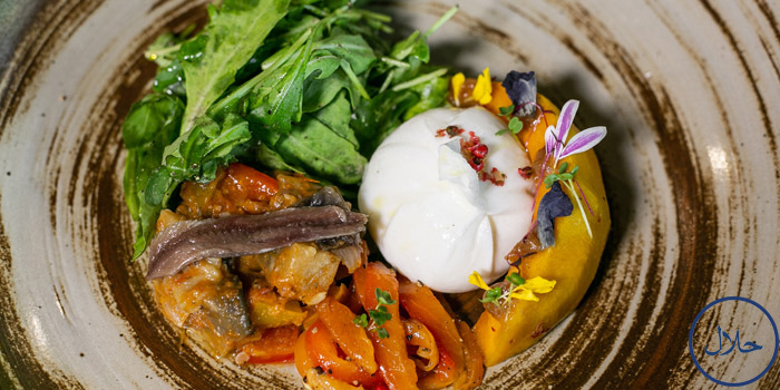 Rocket Burrata Salad from Fat Lam at 15 Soi Seri 5 Alley Khwaeng Suan Luang, Khet Suan Luang Bangkok