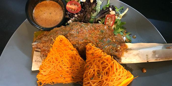 Roti Kirai Beef Ribs from The Malayan Council in Bugis, Singapore