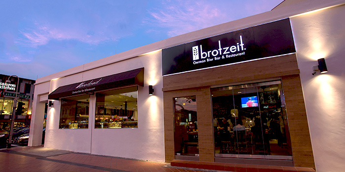 Exterior of Brotzeit German Bier Bar & Restaurant (Katong) in Marine Parade, Singapore