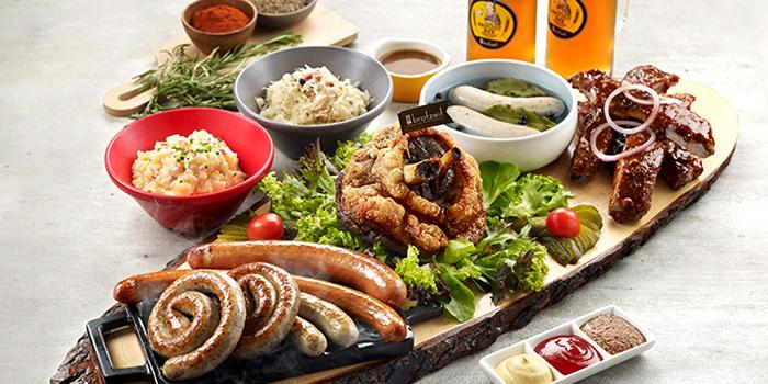Platter from Brotzeit German Bier Bar & Restaurant (Somerset) in Orchard, Singapore