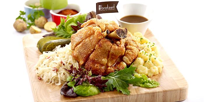 Pork Knuckle from Brotzeit German Bier Bar & Restaurant (Somerset) in Orchard, Singapore