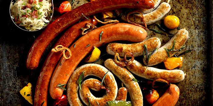 Sausages from Brotzeit German Bier Bar & Restaurant (Raffles City) in City Hall, Singapore