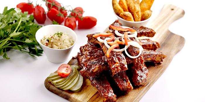 Ribs from Brotzeit German Bier Bar & Restaurant (Katong) in Marine Parade, Singapore
