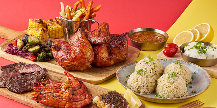 Chargrilled Items from Chachako at Jurong Point in Jurong, Singapore
