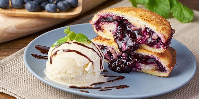 Cheesy Blueberry UFO Toastie from Chachako at Jurong Point in Jurong, Singapore