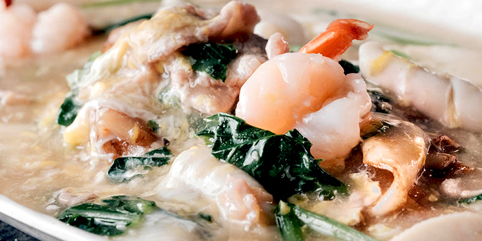 Seafood Hor Funin Egg Gravy from Cozy Bistro & Lounge at Kensington Square in Paya Lebar, Singapore