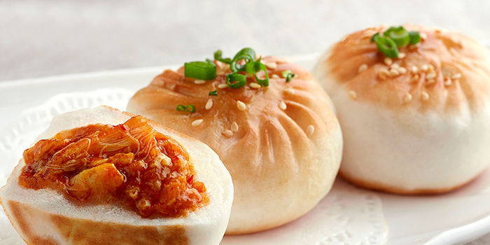 Pan Fried JUMBO Chilli Crab Buns from JUMBO Seafood (ION Orchard) in Orchard, Singapore