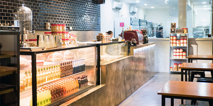 Dining Space of Les Patisseries in Thomson, Singapore