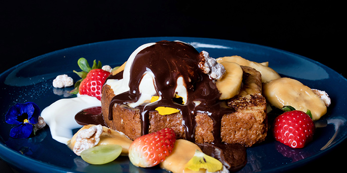 French Toast With Chocolate Bailey