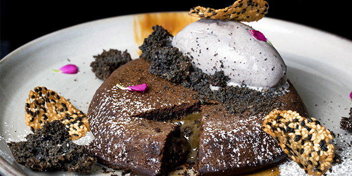 Houjicha Moulten Pancake from Les Patisseries in Thomson, Singapore