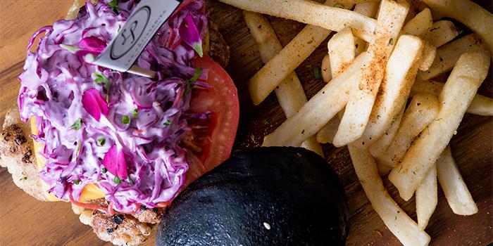 Signature Pork Burger from Les Patisseries in Thomson, Singapore
