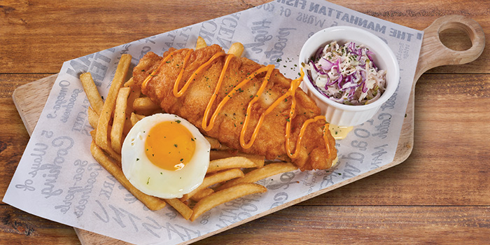 Fishy Chicky Bang Bang from The Manhattan Fish Market (Marina Square) in City Hall, Singapore