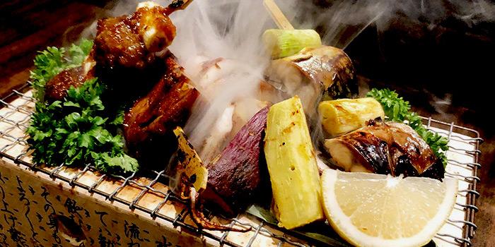 Sumiyaki Moriya from Rakuichi Japanese Restaurant in Dempsey, Singapore