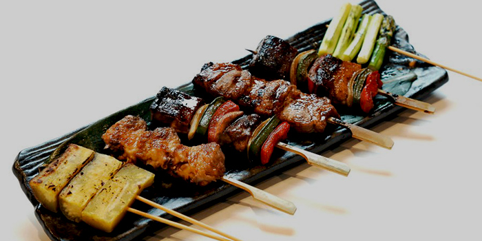 Kushiyaki and Yakitori from Haruyuki Japanese Restaurant in Seletar, Singapore