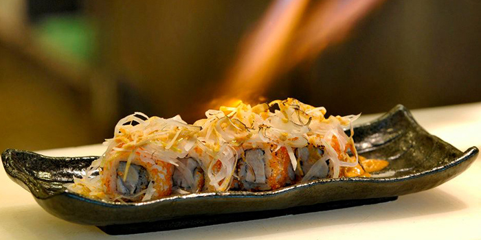 Spicy Aburi Sushi from Haruyuki Japanese Restaurant in Seletar, Singapore