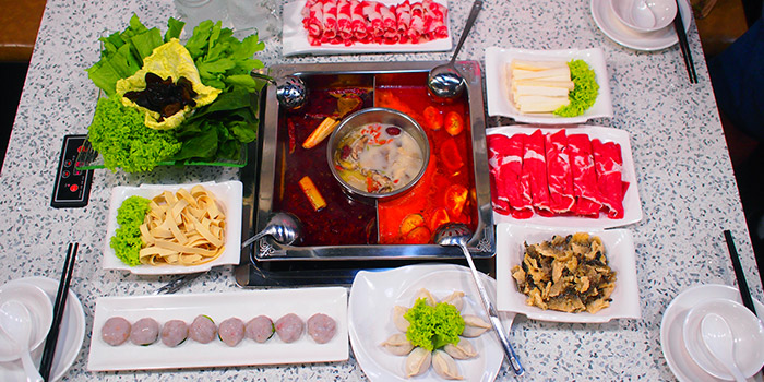 Hotpot from Shan Pin Steamboat in Toa Payoh, Singapore