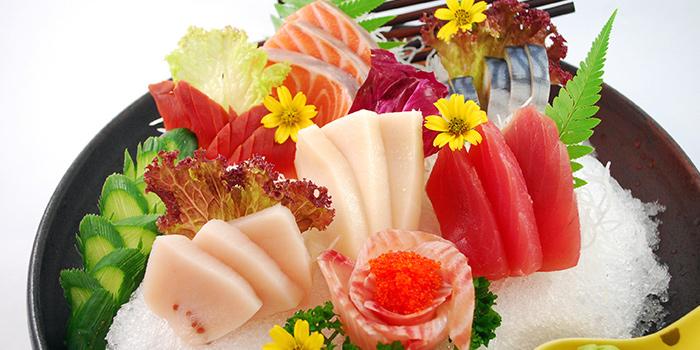 Assorted Sashimi from Tenkaichi Japanese BBQ Restaurant (Cineleisure) in Orchard, Singapore