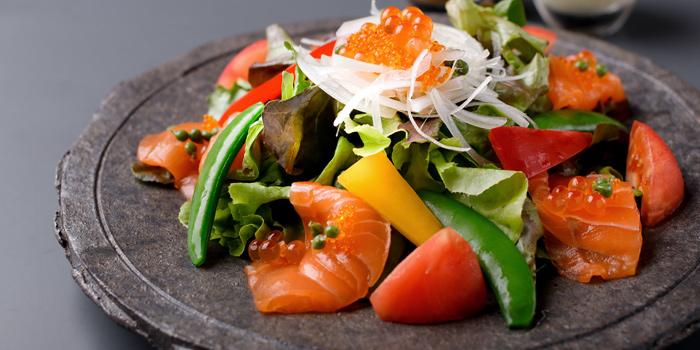 Salmon Salad from Kitaohji Ginza Thailand at 212 Soi Sukumvit 55 Khwaeng Khlong Tan Nuea, Watthana Bangkok