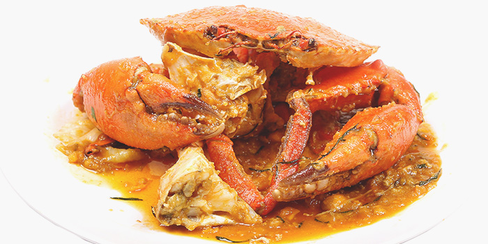 Salted Egg Crab from Gu Ma Jia in Tai Seng, Singapore