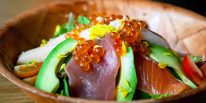 Sashimi Salad from Big Sake Bar at The Concourse Skyline in Lavender, Singapore