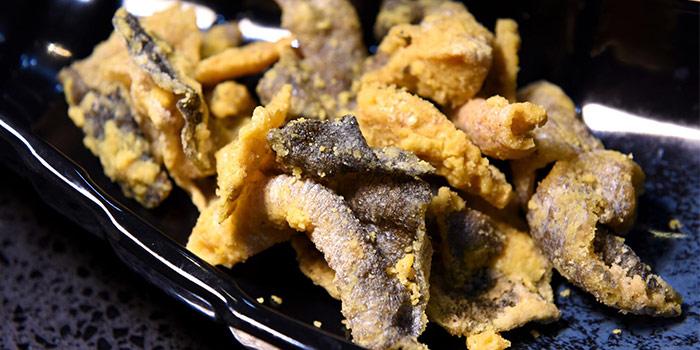 Crispy Fish Skin from Sea Tripod @ Garden in Jurong, Singapore